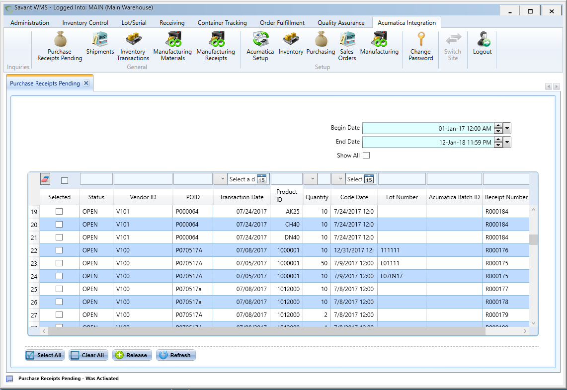 WMS - Warehouse Management Systems - ScanOnline