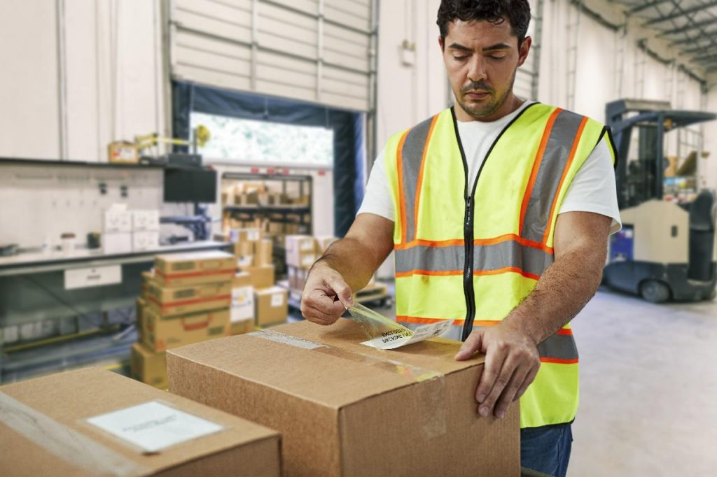 Warehouse Inventory & Asset Management Labels