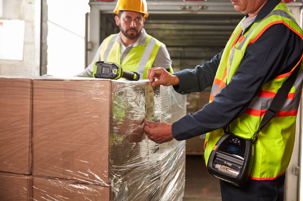 Warehouse printing with inventory & asset management labels