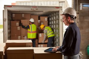 Warehouse management system with a rugged tablet by management